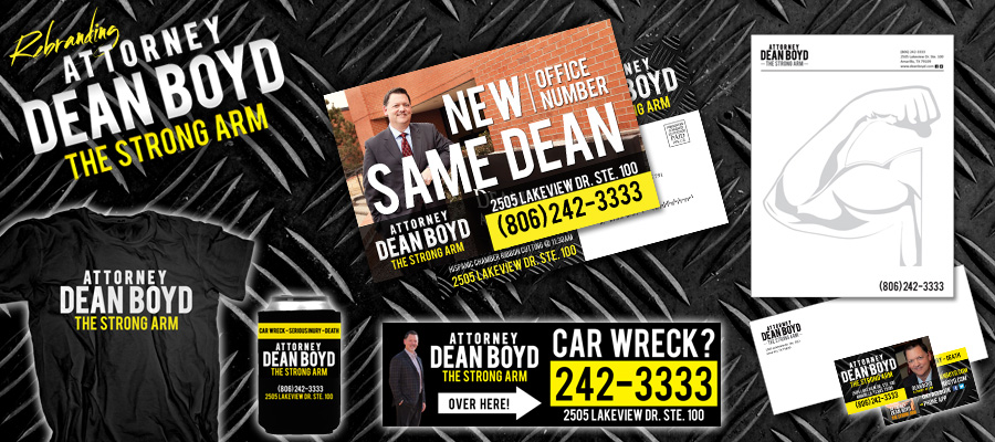 Check out our work for Attorney Dean Boyd!